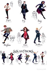 six of crows cast